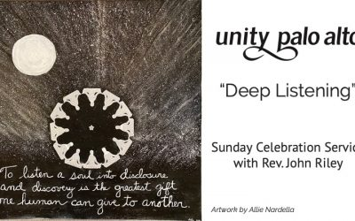 Deep Listeningwith Rev. John Riley